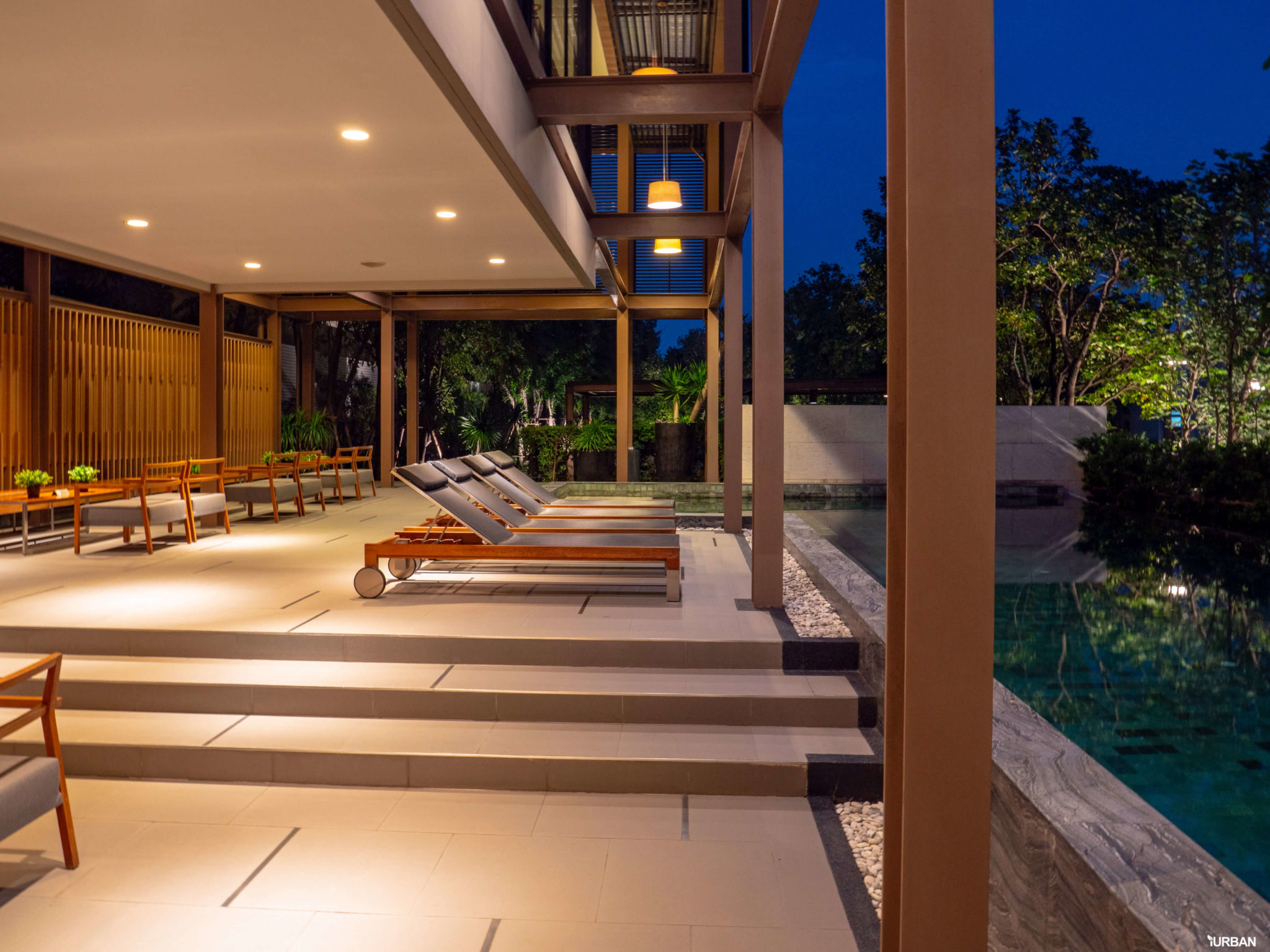 รีวิว บารานี พาร์ค ศรีนครินทร์-ร่มเกล้า บ้านสไตล์ Courtyard House ของไทยที่ได้รางวัลสถาปัตยกรรม 35 - Baranee Park