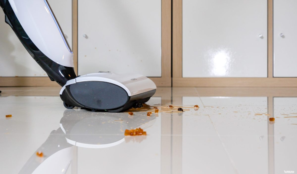 รีวิว Hizero Bionic 4-in-1 เครื่องดูดฝุ่นดูดน้ำสุดไฮเทค เก็บชาไข่มุกหก-จนพื้นแห้งในปรื๊ดเดียว 31 - Hizero