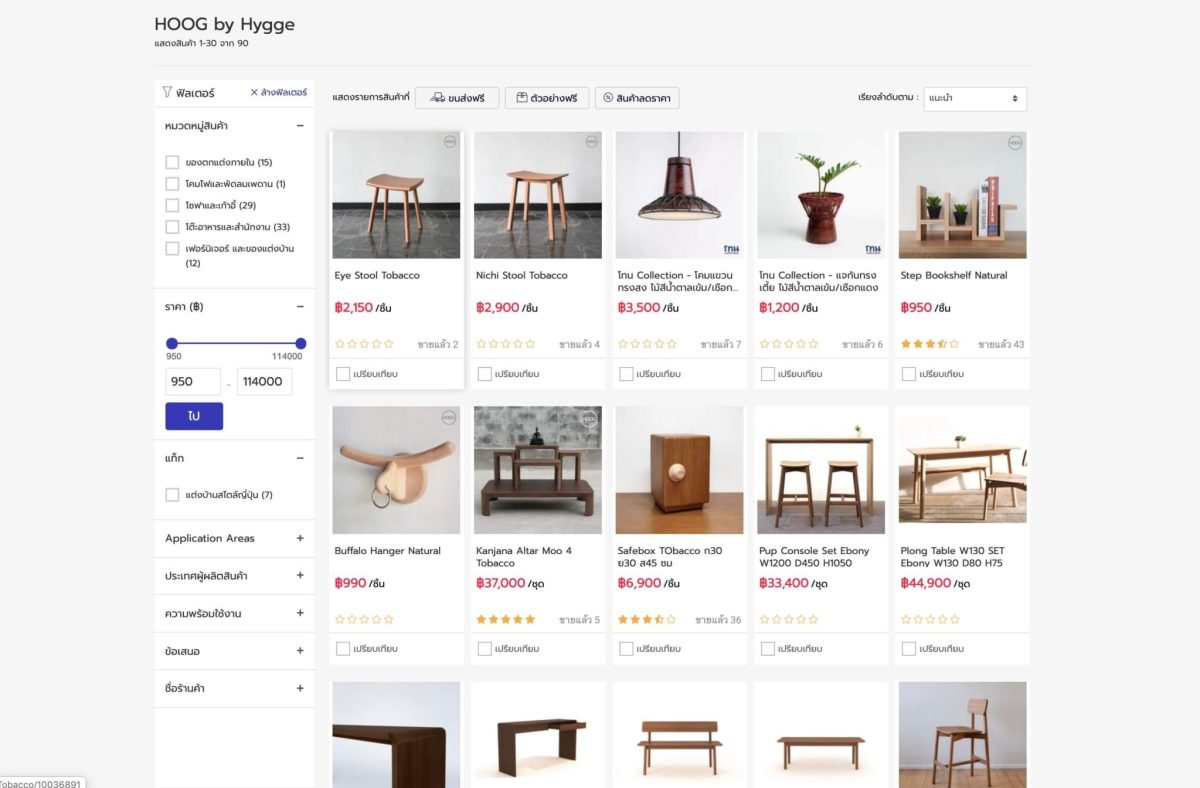 """15 แบรนด์ดัง """"วัสดุและของแต่งบ้าน"""" เล็งเห็นโอกาสบนโลกออนไลน์ ร่วมมือ NocNoc.com แหล่งรวมร้านค้าสำหรับคนรักบ้าน 28 - Marketplace"""