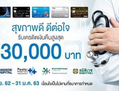 บัตรเครดิต TMB ร่วมกับโรงพยาบาลในเครือ บริษัท กรุงเทพดุสิตเวชการ จำกัด (มหาชน) 16 -