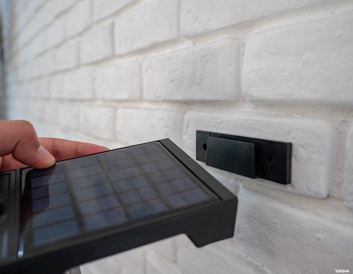 รีวิว 3 โคมไฟพลังงานแสงอาทิตย์ LAMPTAN LED SOLAR SMART SENSOR พร้อมฟังก์ชันใหม่ 2020 38 - cover