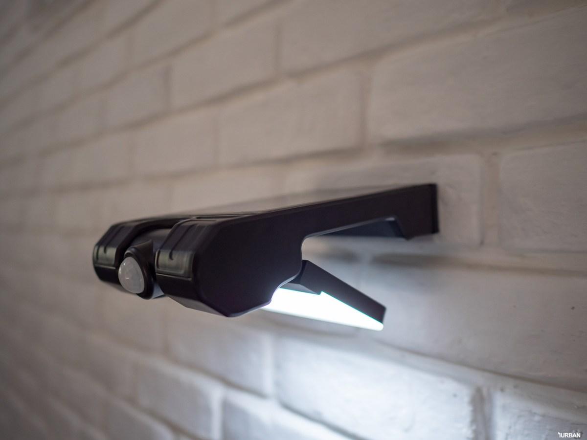รีวิว 3 โคมไฟพลังงานแสงอาทิตย์ LAMPTAN LED SOLAR SMART SENSOR พร้อมฟังก์ชันใหม่ 2020 42 - cover