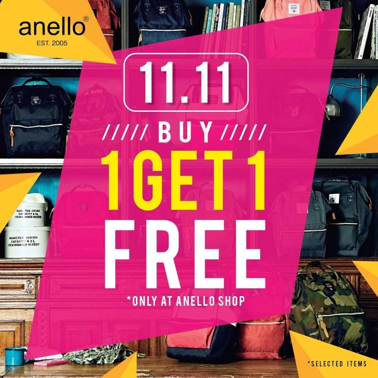 11.11 โปรโมชั่นสุดช็อค! กระเป๋าอเนลโล่ ซื้อ 1 แถม 1 (คละรุ่นได้*) 13 -