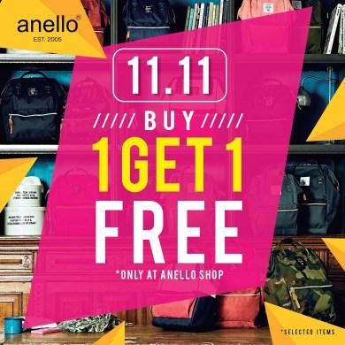 11.11 โปรโมชั่นสุดช็อค! กระเป๋าอเนลโล่ ซื้อ 1 แถม 1 (คละรุ่นได้*) 16 -