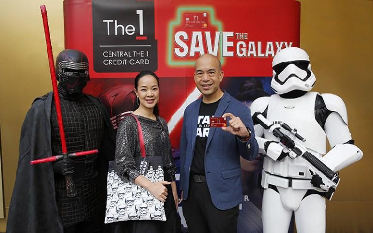บัตรเครดิตเซ็นทรัล เดอะ วัน ร่วมกับ เดอะ วอลท์ ดิสนีย์ (ประเทศไทย) เอาใจสาวกสตาร์ วอร์ส ชวนชมมหากาพย์สงครามแห่งจักรวาล Star Wars: The Rise of Skywalker ก่อนใคร 13 -