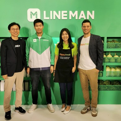 LINE จับมือ HappyFresh ผนึกพันธมิตร เปิดบริการใหม่เจาะตลาดซูเปอร์มาร์เก็ตไทย 16 -