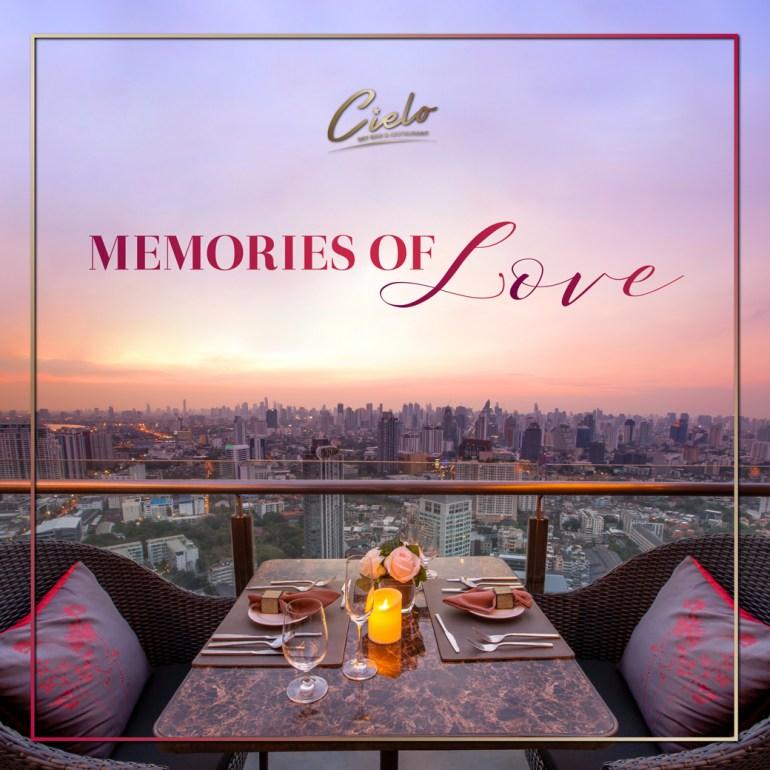 เติมความหวาน เพิ่มความรัก ในวันวาเลนไทน์กับดินเนอร์สุดโรแมนติก ที่ Cielo Sky Bar & Restaurant 13 -