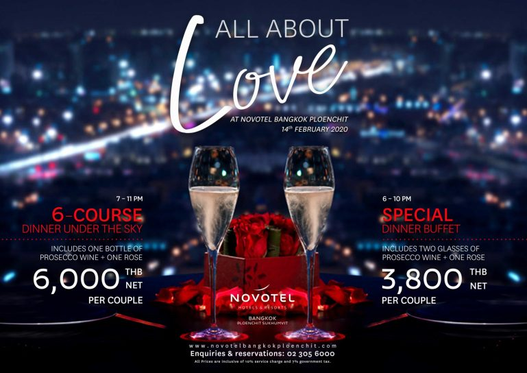 All About LOVE at Novotel Ploenchit 13 -