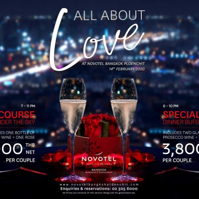 All About LOVE at Novotel Ploenchit 15 -
