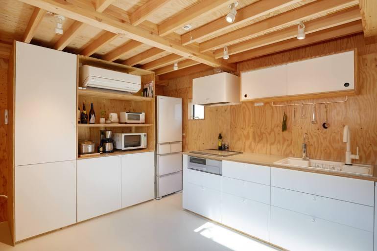 บ้านกล่องนม Milk Carton House ณ Tokyo หน้ากว้างเพียง 3.5 เมตร แต่สเปซภายในครบครัน 35 - Akihide MISHIMA