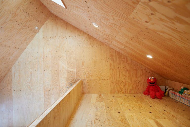 บ้านกล่องนม Milk Carton House ณ Tokyo หน้ากว้างเพียง 3.5 เมตร แต่สเปซภายในครบครัน 34 - Akihide MISHIMA