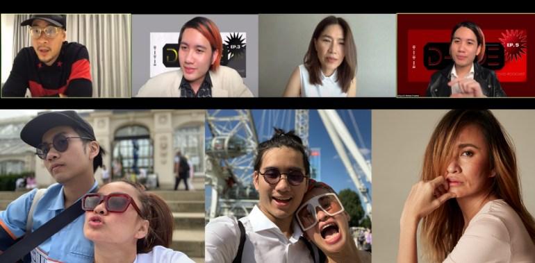 """เหล่าคนบันเทิง ร่วมแชร์เรื่องราว..สร้างแรงบันดาลใจ ท่ามกลางวิกฤติ Covid19 กับรายการ """"D-side Covid Podcast"""" By JJ -จุลจักร ยูทูปชาแนล D Dance Thailand 13 -"""