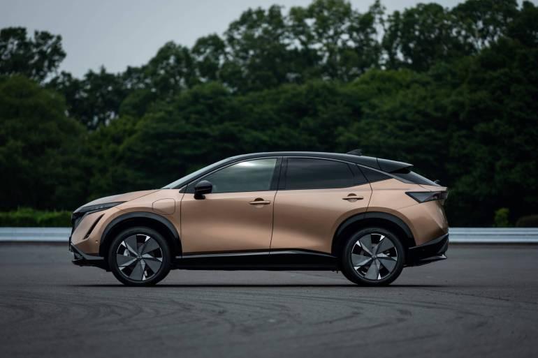 Nissan Ariya นิสสัน อริยะ ครอสโอเวอร์รถไฟฟ้า 100% พลิกมาตรฐานรถไฟฟ้าญี่ปุ่น 2021 19 - Nissan