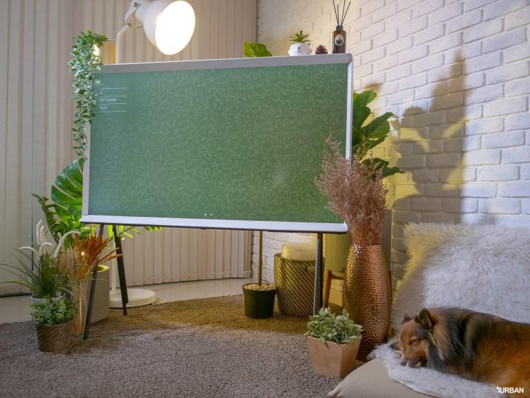 รีวิว 3 ทีวีที่สวยที่สุดเจนเนอเรชั่นนี้ The Frame The Serif และ The Sero 61 - decor