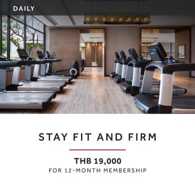 พิ่มความฟิตของร่างกายกับโปรโมชั่น STAY FIT AND FIRM ที่ โรงแรมแบงค็อก แมริออท มาร์คีส์ ควีนส์ปาร์ค 14 -