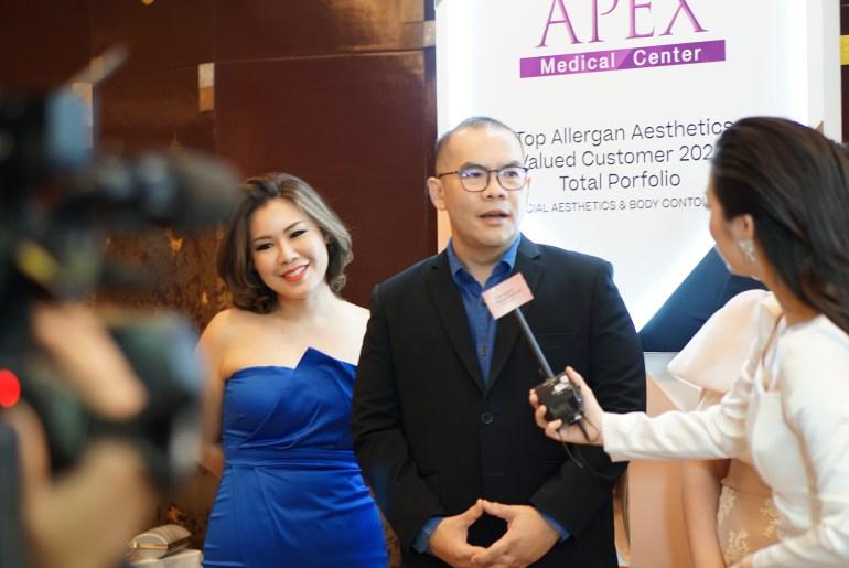 APEX คว้ารางวัลเกียรติยศ คลินิกที่มีการทำ Coolsculpting สูงสุดตลอดกาลจาก Allergan Aesthetics 15 - coolsculpting