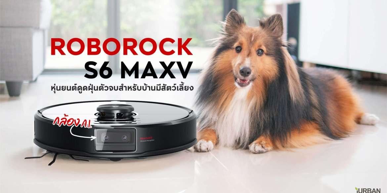 ROBOROCK S6 MAXV รีวิวหุ่นยนต์ดูดฝุ่นตัวท็อปพร้อมกล้อง A.I. ฉลาดขนาดหลบอึหมาได้ 15 - Automatic