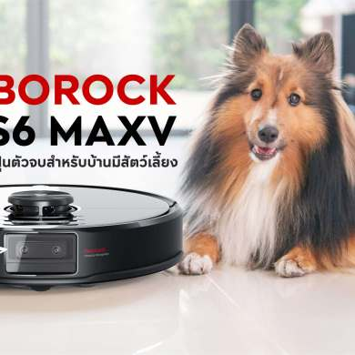 ROBOROCK S6 MAXV รีวิวหุ่นยนต์ดูดฝุ่นตัวท็อปพร้อมกล้อง A.I. ฉลาดขนาดหลบอึหมาได้ 37 - Automatic