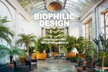 แต่งบ้านแบบ Biophilic Design เมื่อเราทันสมัยจนต้องใคว่คว้าหาธรรมชาติ 4 - Biophilic