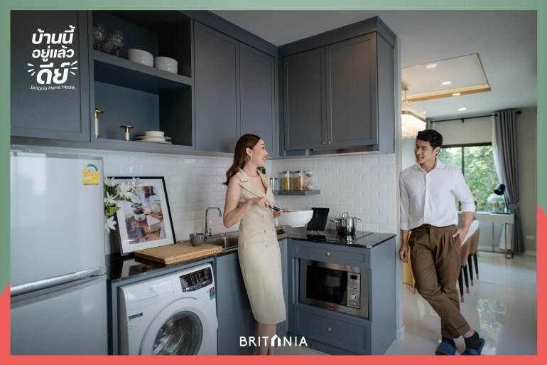 """""""บริทาเนีย"""" เปิดแคมเปญ """"บ้านนี้อยู่แล้วดีย์"""" จัดเต็ม Living Solution ด้วยฟังก์ชันและบริการเสริมใส่ใจสุขภาพ 14 - BRITANIA"""