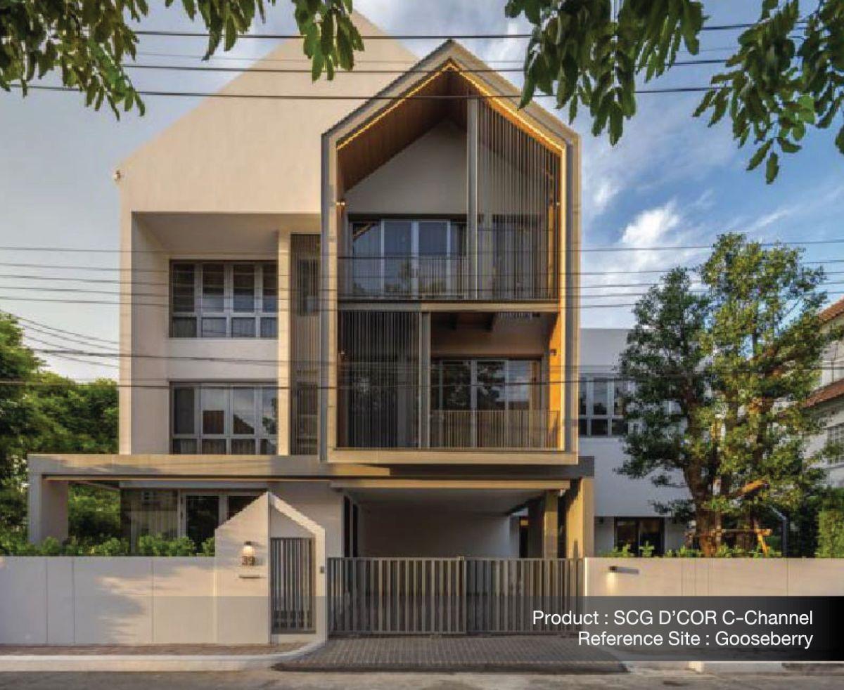 ใส่ใจทุกรายละเอียด เพื่อให้บ้านสวยเนี้ยบ ทางเลือกเพื่อบ้านเรียบร้อย กับ SCG D'COR Trim 15 - SCG (เอสซีจี)
