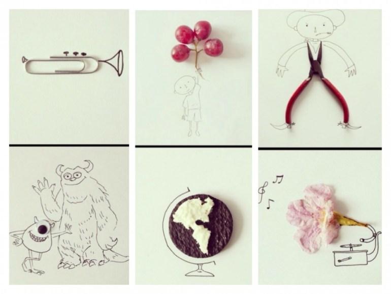 ฝึกสร้างจินตนาการ จากสิ่งของใกล้ๆตัว บวกกับการวาดภาพง่ายๆ 13 -