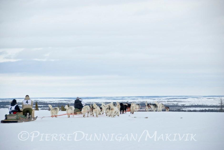 Ivakkak course de traîneau à chien edition 2010  Tasiujaq to Kuujjuaq