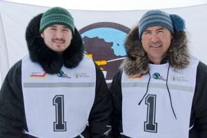 1 - Racer: Junior May <br>  Partner: Ahuya Snowball May <br>  Community: Kuujjuaq