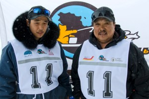 11 - Racer: Peter Ittukallak <br>  Partner: Putugu Iqiquq <br>  Community: Puvirnituq
