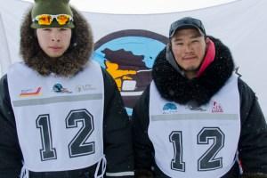 12 - Racer: Junior Tukkiapik <br>  Partner: Alec Aupaluk <br>  Community: Quaqtaq