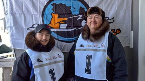 Musher: Allen Gordon Partner: Johnny Mangik Kooktook Community: Kuujjuaq