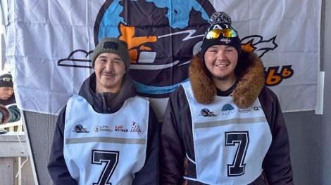 Musher: Sandy Jaaka  Partner: Peter Qisiiq Community: Kangirsujuaq