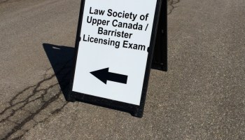 I Passed the Ontario Bar Exams  How Many Failed? We Don't Know