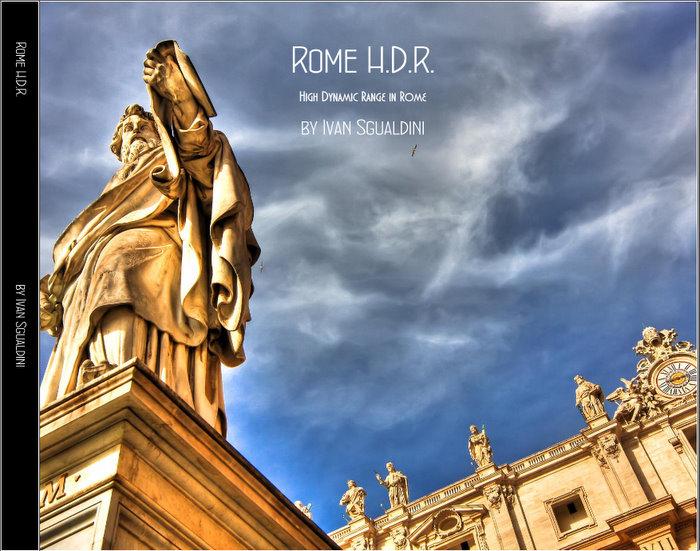 Libro fotografico Rome H.D.R