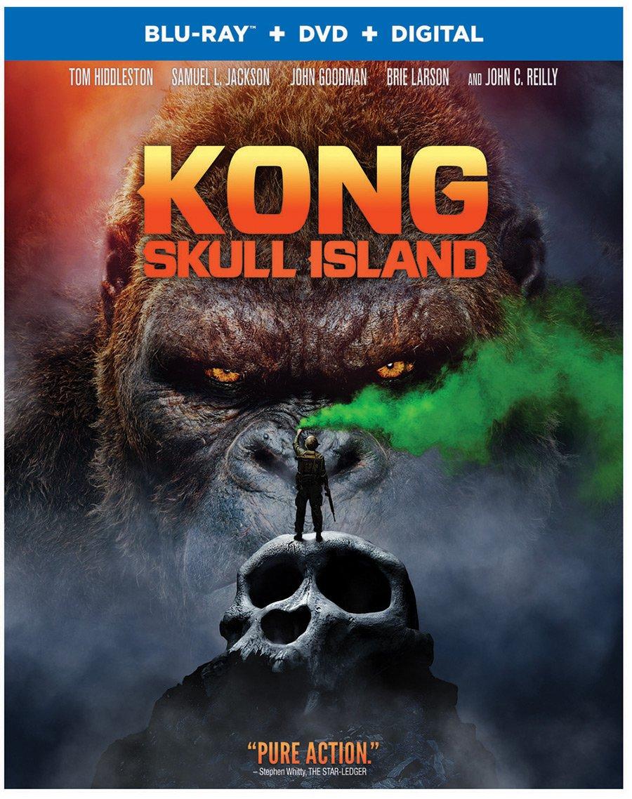 Kong Island Dolby Atmos Blu-ray