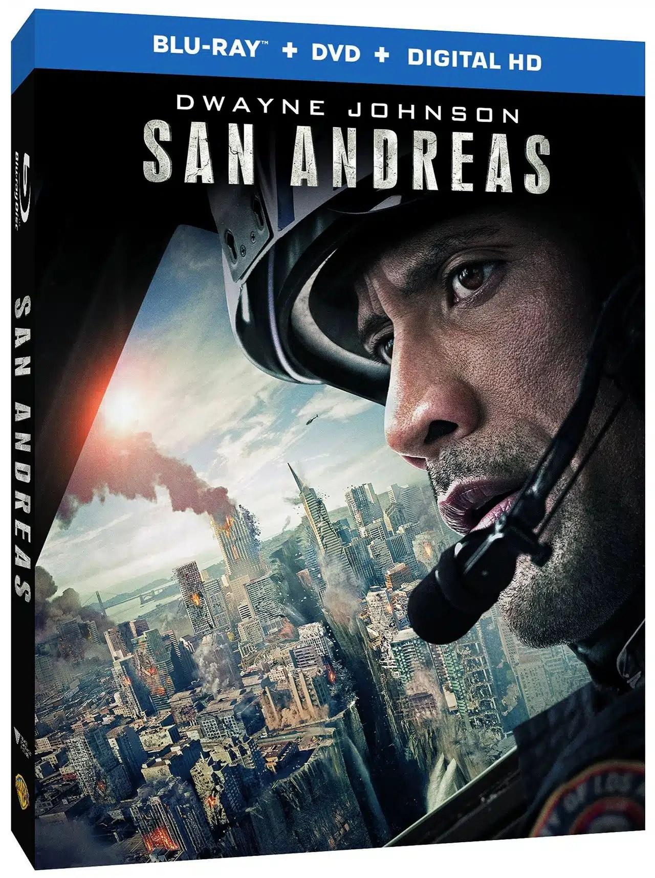 San Andreas Dolby Atmos Blu-ray