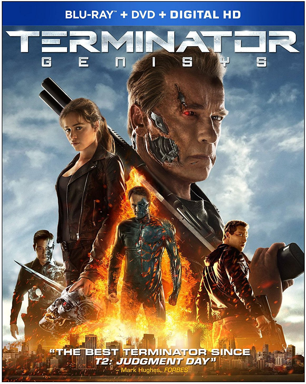 Terminator Genisys Dolby Atmos Blu-ray