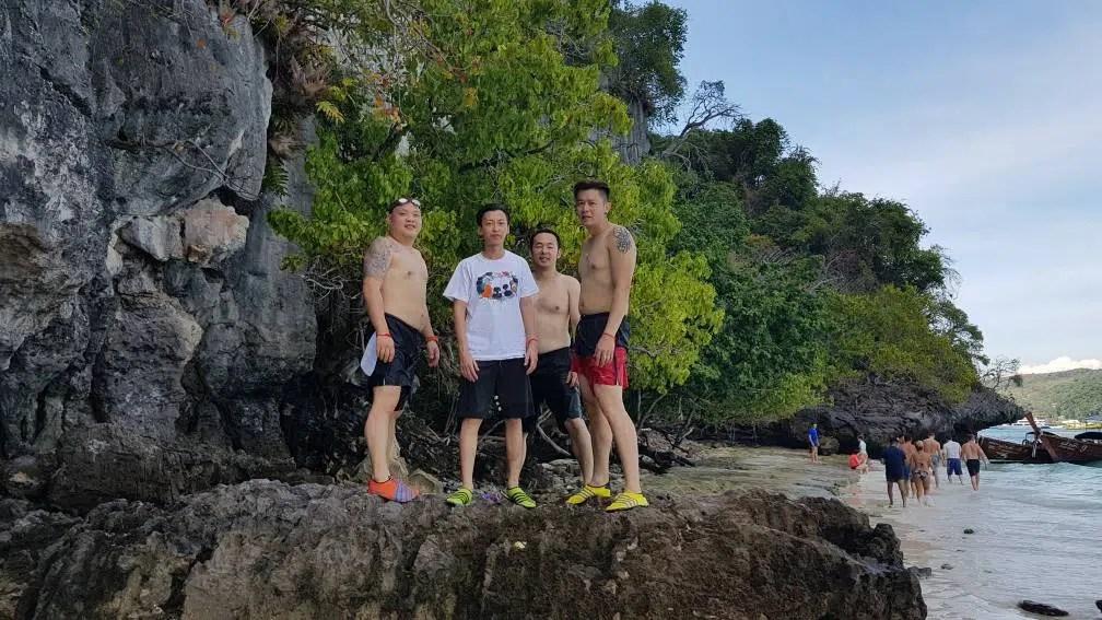 Monkey Bay Phi Phi