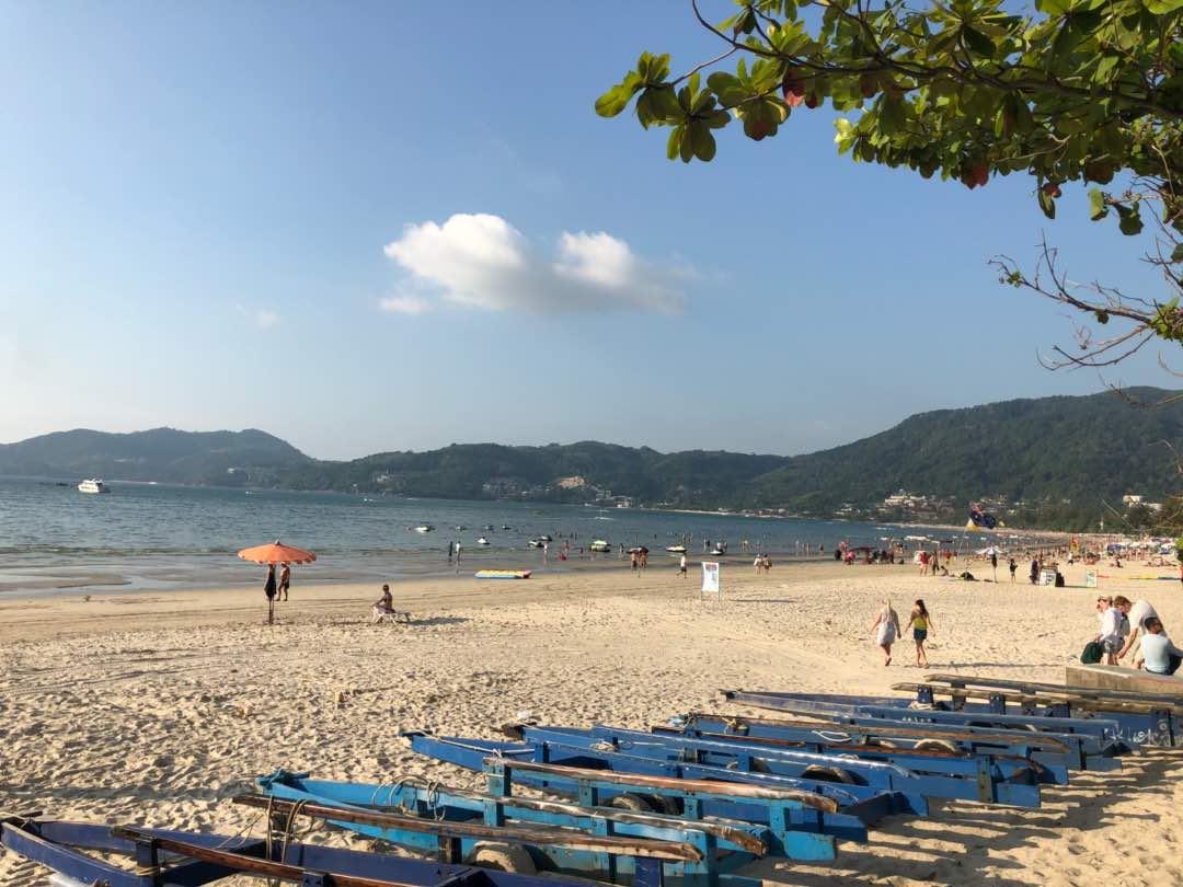 Patong Beach View 2018