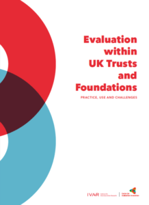 Front cover image for Evaluation within UK Trusts and Foundations