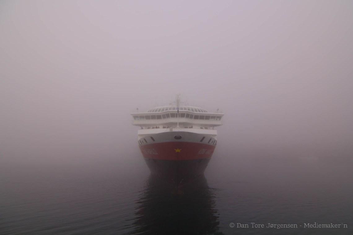 VARDØTÅKE: Noen ganger er tåken i Vardø tett at man knapt tror sine egne øyne.