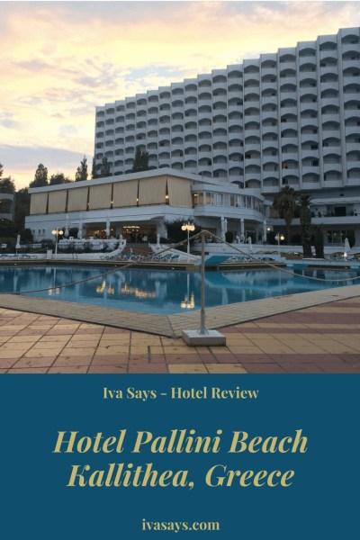 Hotel Pallini Beach in Kallithea, Greece (Chalkidiki Peninsula)