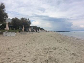 The beach at Pallini Beach Hotel
