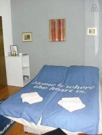 Bedroom at Cozy debar maalo airbnb apartment