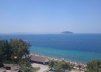 View at Porto Carras Sithonia Hotel.
