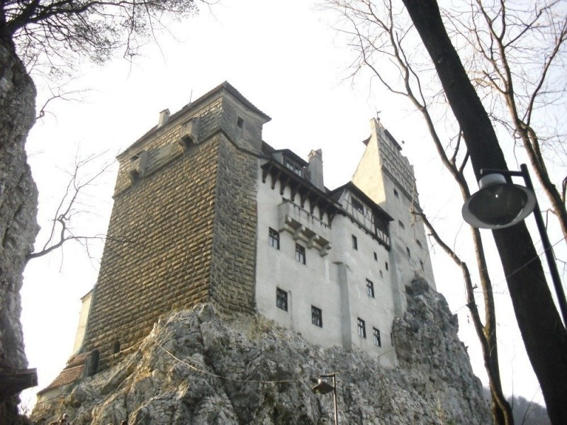 The Bran Castle in Brasov, Romania