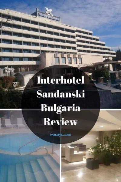 Staying at Interhotel Sandanski to enjoy the natural mineral thermal waters.