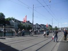 Limmat passing through Zurich