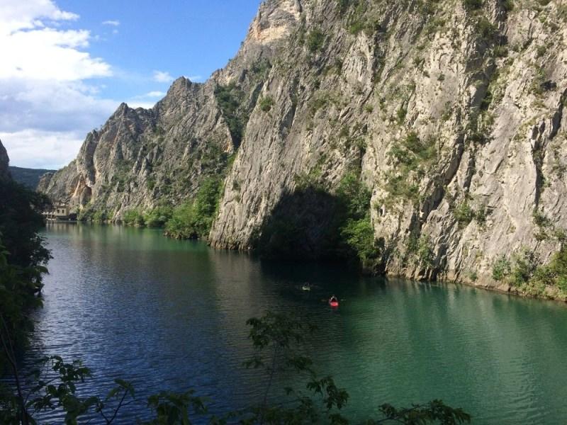 Kayaking at Canyon Matka