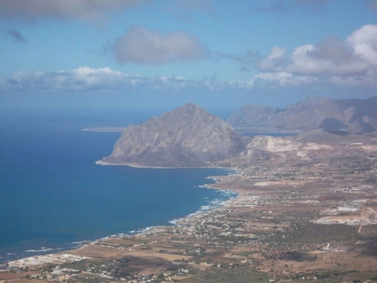 Amazing photos of Sicily - View from the Castle of Venus in Erice